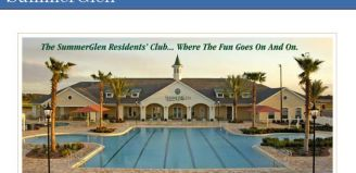 SummerGlen is a Florida Retirement Community located in Ocala Florida